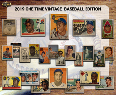 2019 Super Break Vintage Baseball Graded BuyBacks ( 1909-1979) Box