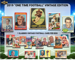 2019 Super Break One Time Vintage 20th Anni Edition Football Box