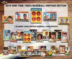 2019 Super Break One Time 1960's Vintage Edition Baseball Box