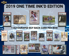 2019 Super Break One Time Ink'D Edition Box