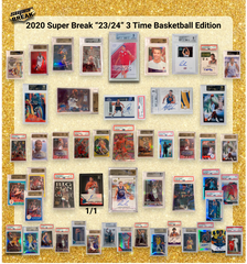 2020 Super Break 23/24 Basketball 3 Time Edition Box