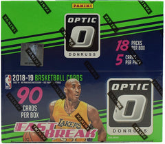2018/19 Panini Donruss Optic Basketball Fast Break Box