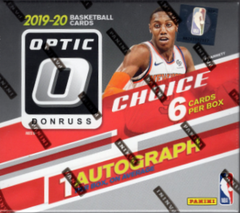 2019/20 Panini Donruss Optic Choice Basketball Box