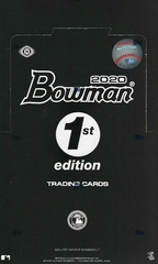 2020 Bowman Baseball 1st Edition Box