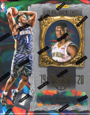 2019/20 Panini Court Kings Basketball Hobby Box