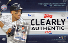 2020 Topps Clearly Authentic Baseball Box