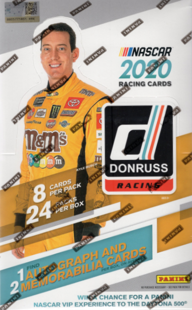 2020 Panini Donruss Racing Hobby Box