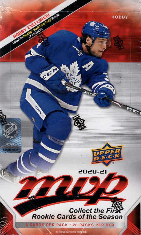 2020/21 Upper Deck MVP Hockey Box