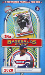2020 Topps Finest Flashback Baseball Box