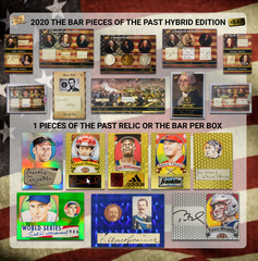 2020 Super Break The Bar Pieces of the Past Hybrid Edition Box