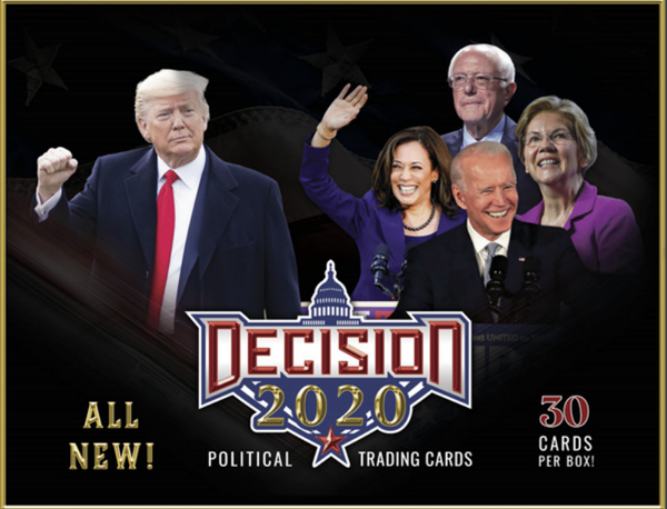 2020 Decision Trading Cards Box