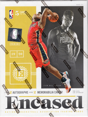 2019/20 Panini Encased Basketball Hobby Box