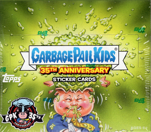 2020 Topps Garbage Pail Kids Series 2: 35th Anniversary Hobby Box