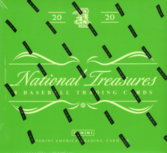 2020 Panini National Treasures Baseball Hobby Box