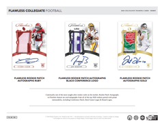 2020 Panini Flawless Collegiate Football Hobby Box