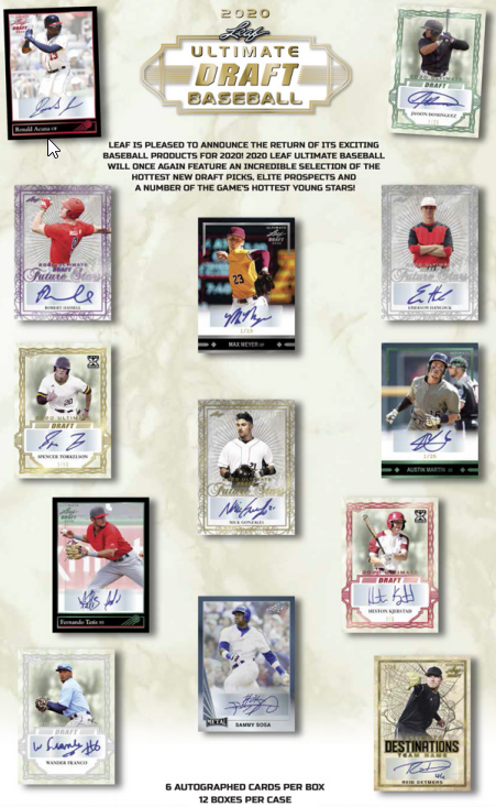 2020 Leaf Ultimate Baseball Hobby Box
