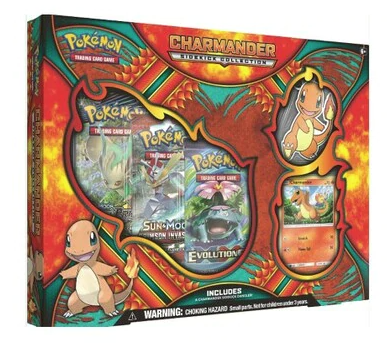 Pokémon Charmander Sidekick Collection Box