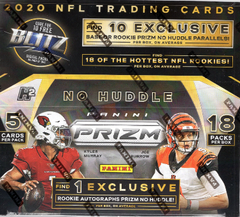 2020 Panini Prizm Football No Huddle Box