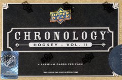 2019/20 Upper Deck Chronology Hockey (Volume 2) Hobby Box