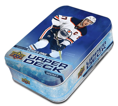 2020/21 Upper Deck Series 1 Hockey Retail Tin