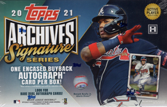 2021 Topps Archives Signature Series Baseball Box