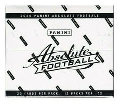 2020 Panini Absolute Football Fat Pack Box