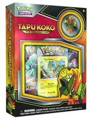 Pokémon Tapu Koko Pin Collection Box