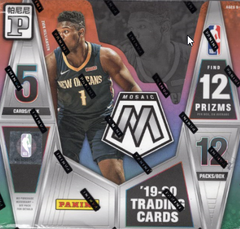 2019/20 Panini Mosaic Basketball Tmall Edition Box