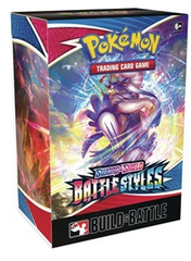 Pokémon Sword & Shield Battle Styles Build & Battle Deck Mini Box