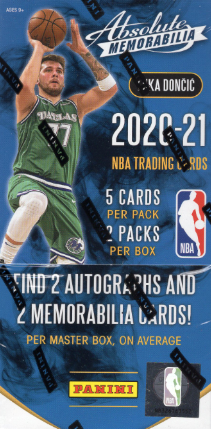 2020/21 Panini Absolute Memorabilia Basketball Hobby Box