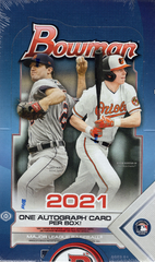 2021 Bowman Baseball Hobby Box