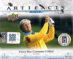 2019/20 Upper Deck Artifacts Golf Hobby Box