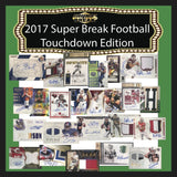 2017 Super Break Football Touchdown Edition Box