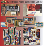 2018 Super Break Cards & Bars Basketball 4 Box Hobby Case