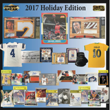 2017 Super Break Holiday Edition Cards and Memorabilia Hobby Box