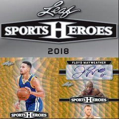 2018 Leaf Metal Sports Heroes Autograph Pre-Production Proofs Hobby Box