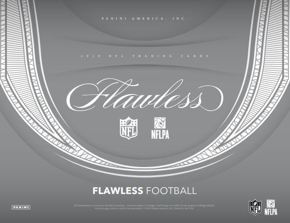 2018 Panini Flawless Football Hobby Box