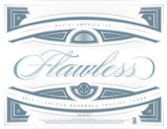 2019 Panini Flawless Baseball Hobby Box