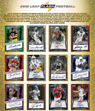 2018 Leaf Flash Football Hobby Box (AUG 21st)