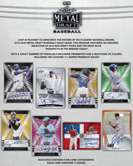 2019 Leaf Metal Draft Baseball Hobby Box