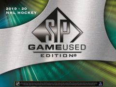 2019/20 Upper Deck SP Game Used Hockey Hobby Box