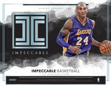 2017/18 Panini Impeccable Basketball Box ( OCT 3rd )