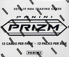 2018/19 Panini Prizm Basketball Super Value Rack Box