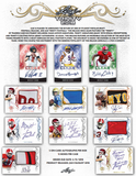 2018 Leaf Trinity Football Hobby Box (AUG 24th)
