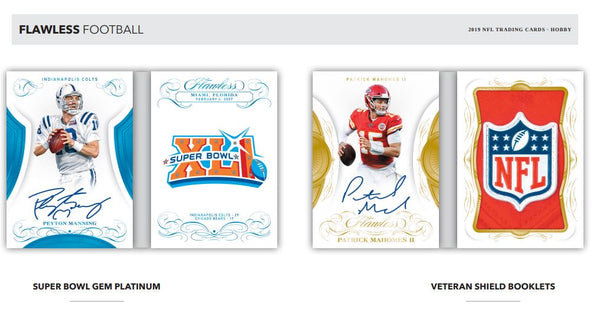 2019 Panini Flawless Football Hobby Box