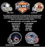 2017 Leaf Autographed Full Sized Helmet Football Box (AUG 25th)
