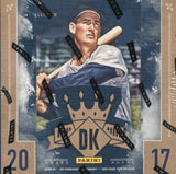 2017 Panini Donruss Diamond Kings Baseball Hobby Box + 2 Fathers Day Packs