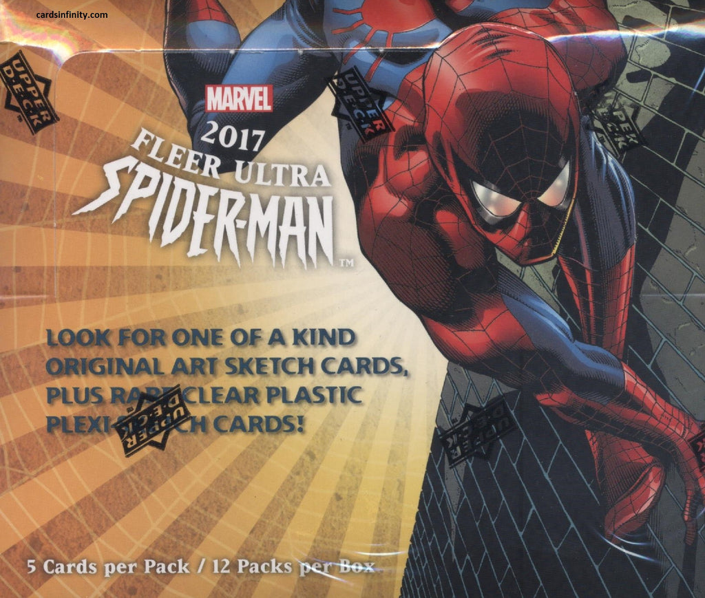 2017 Upper Deck Marvel Fleer Ultra Spider-Man Hobby Box