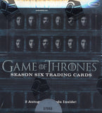 2017 Rittenhouse Game of Thrones Season 6 Trading Cards Hobby Box