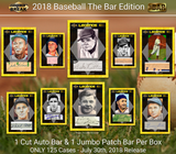 2018 Super Break The Bar 1/1 Premier Edition Baseball 4 Box Case + 1 National POTP Hybrid  Bonus Pack